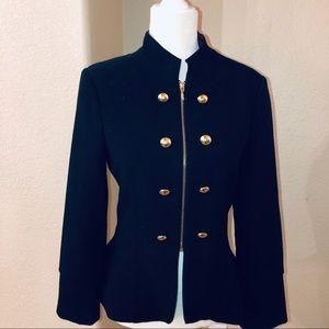XOXO military inspired blazer